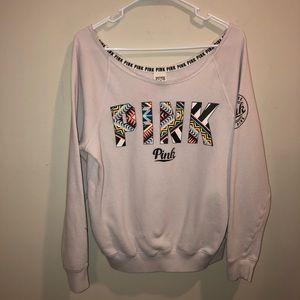 Victoria's Secret Pink Tribal Sweatshirt